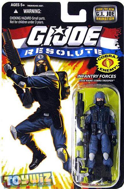 GI Joe Resolute Wave 13 Cobra Trooper Action Figure