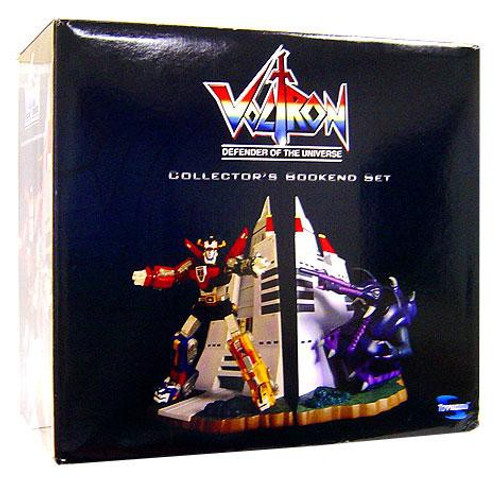 Voltron Defender of the Universe Lion Force Bookend Set