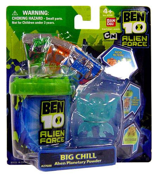 Ben 10 Alien Force Big Chill Planetary Powder Set