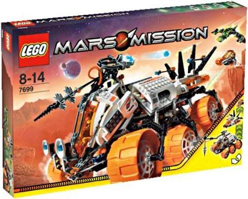 LEGO Mars Mission MT-101 Armored Drilling Unit Set #7699