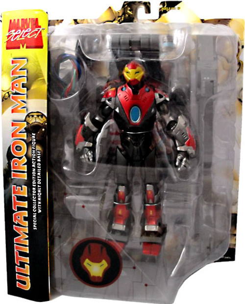 Marvel Select All Stars Ultimate Iron Man Action Figure