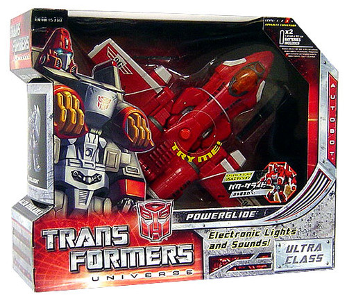 Transformers Universe Ultra Powerglide Ultra Action Figure [G1 Colors]