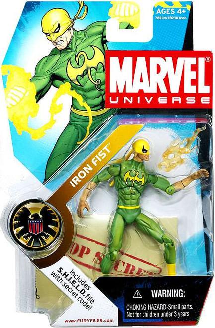 Marvel Universe Series 2 Iron Fist Action Figure #17