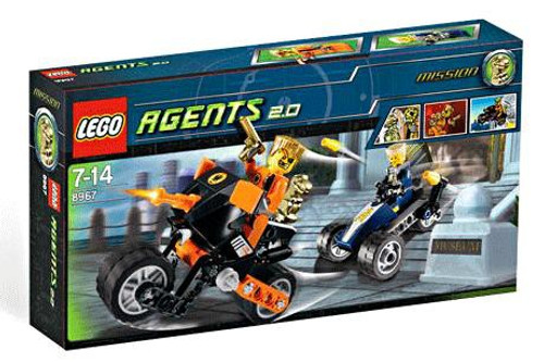 LEGO Agents Gold Tooth's Getaway Set #8967