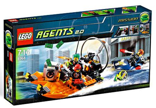 LEGO Agents River Heist Set #8968
