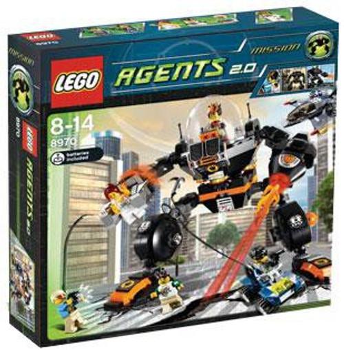 LEGO Agents Robo Attack Set #8970