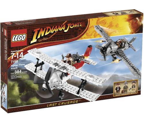 LEGO Indiana Jones Fighter Plane Attack Set #7198