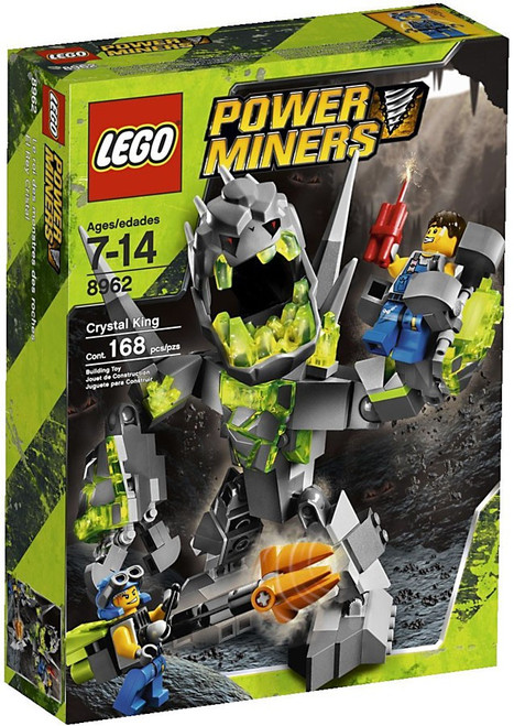 LEGO Power Miners Crystal King Set #8962