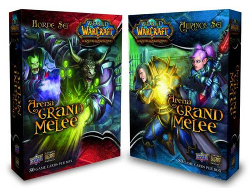 World of Warcraft Trading Card Game Arena Grand Melee Set of 2 Boxes [Alliance & Horde]