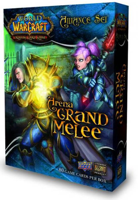 World of Warcraft Trading Card Game Arena Grand Melee Box [Alliance]