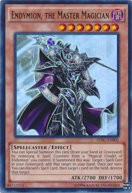 YuGiOh 5D's Structure Deck: Spellcaster's Command Ultra Rare Endymion, The Master Magician SDSC-EN001
