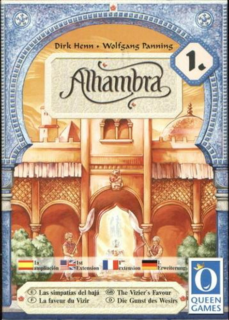 Alhambra: The Vizier's Favor Board Game Expansion #1