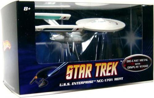 Star Trek The Motion Picture Hot Wheels U.S.S. Enterprise NCC-1701 Diecast Vehicle [Refit]