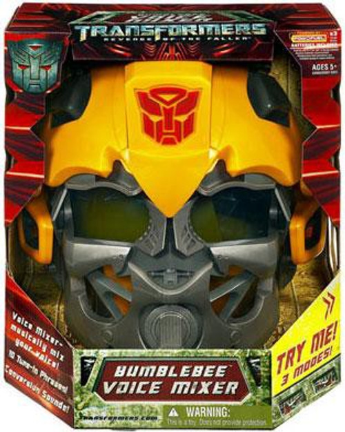 Transformers Revenge of the Fallen Bumblebee Voice Mixer Helmet Roleplay Toy