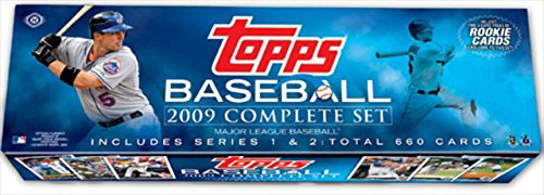 NFL 2009 Topps Baseball Cards Complete Set