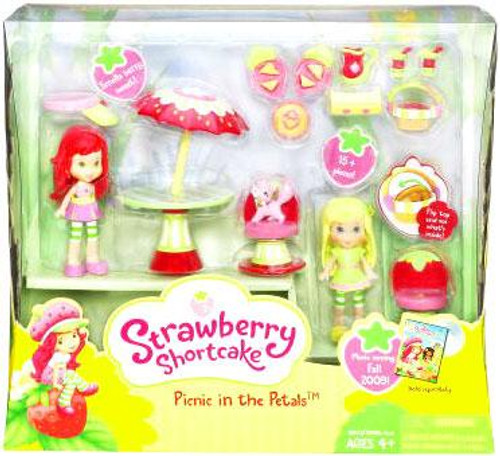 Strawberry Shortcake Picnic in the Petals Playset