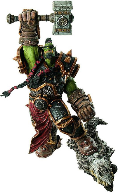 World of Warcraft Premium Series 2 Orc Warchief Thrall Action Figures