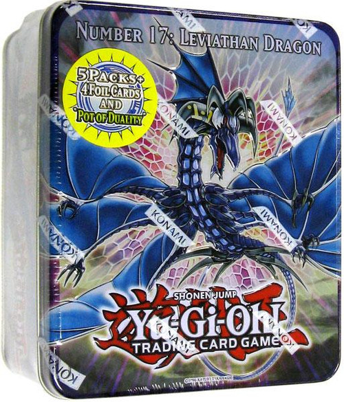 YuGiOh Zexal 2011 Collector Tin Number 17: Leviath Dragon Collector Tin [Sealed]