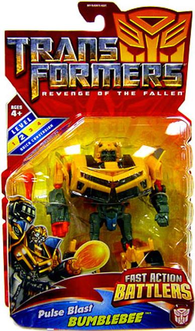 Transformers Revenge of the Fallen Fast Action Battlers Pulse Blast Bumblebee Action Figure