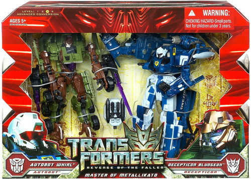 Transformers Revenge of the Fallen Master of Metallikato Exclusive Action Figure 2-Pack