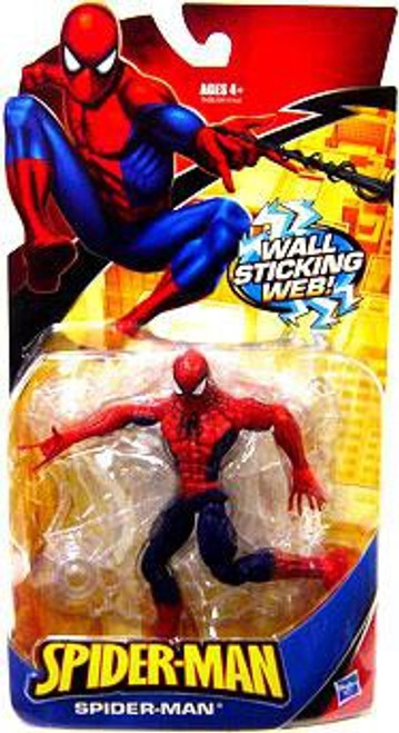 Classic Heroes Spider-Man Action Figure [Wall Sticking Web Red & Blue]