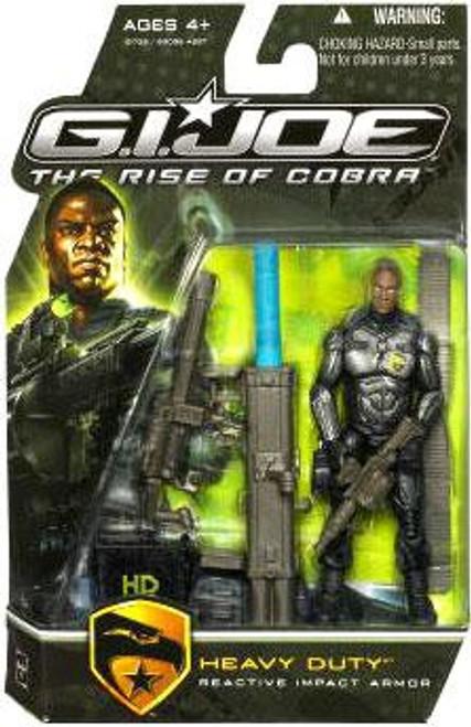 GI Joe The Rise of Cobra Heavy Duty Action Figure [Reactive Impact Armor]