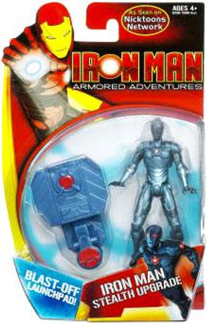 Armored Adventures Iron Man Stealth Upgrade Action Figure