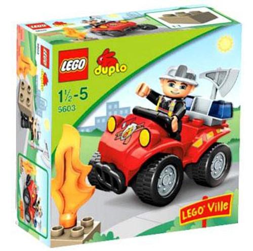 Duplo Lego Ville Fire Chief Set #5603