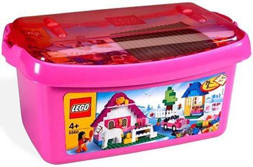 LEGO Large Pink Brick Box Set #5560
