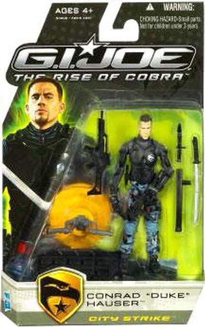GI Joe The Rise of Cobra Conrad Hauser Duke Action Figure [City Strike]