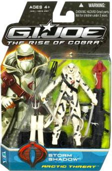 GI Joe The Rise of Cobra Storm Shadow Action Figure [Arctic Threat]