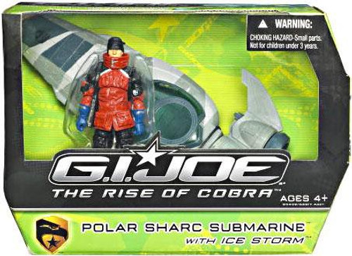 GI Joe The Rise of Cobra Polar Sharc Submarine Action Figure Vehicle