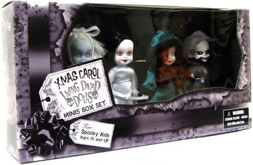 Living Dead Dolls Friday the 13tth Xmas Carol Exclusive Mini Dolls