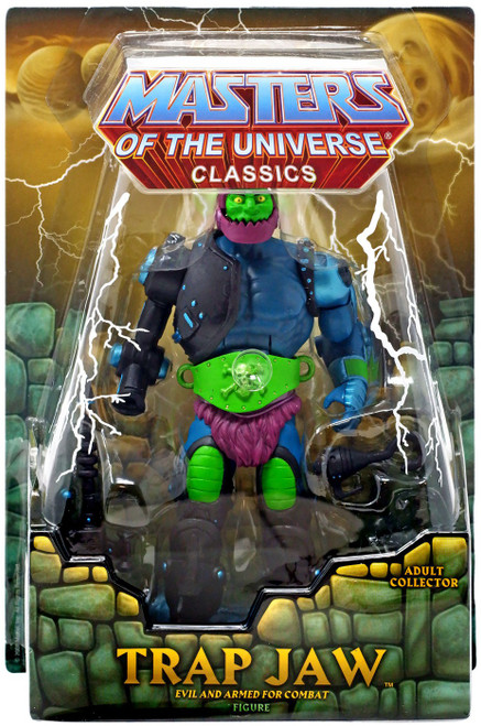 Masters of the Universe Classics Club Eternia Trap Jaw Exclusive Action Figure