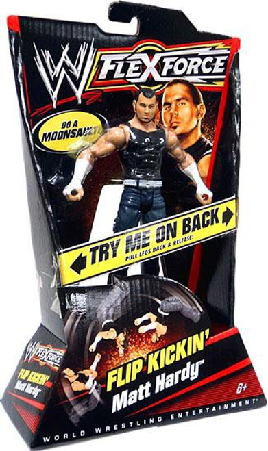 WWE Wrestling FlexForce Series 1 Flip Kickin' Matt Hardy Action Figure