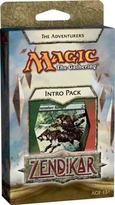MtG Zendikar The Adventurers Intro Pack [Sealed Deck]