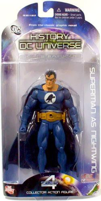 History of the DC Universe Series 4 Superman As Nightwing Action Figure