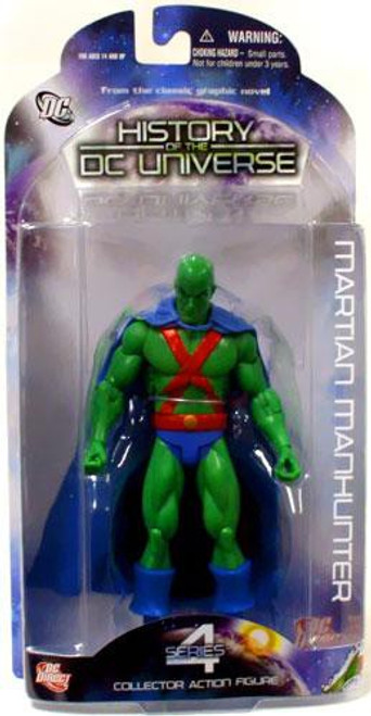 History of the DC Universe Series 4 Martian Manhunter Action Figure