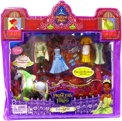 Disney The Princess and the Frog Favorite Moments Deluxe Gift Set Mini Figure Set