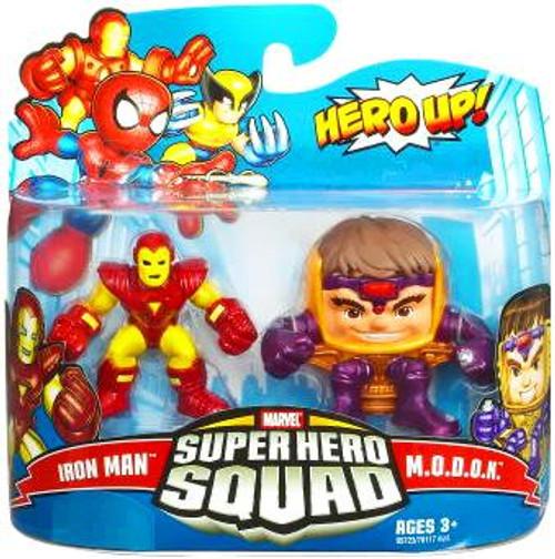 Marvel Super Hero Squad Series 16 Iron Man & M.O.D.O.K. Action Figure 2-Pack