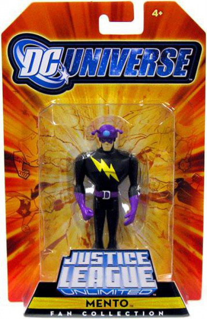 DC Universe Justice League Unlimited Fan Collection Mento Exclusive Action Figure