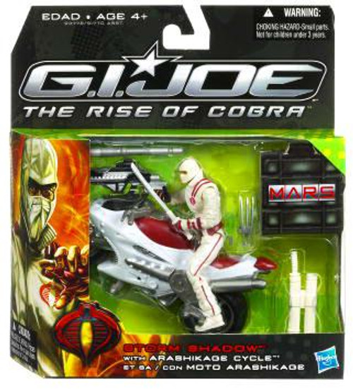 GI Joe The Rise of Cobra MARS Troopers Storm Shadow Exclusive Action Figure