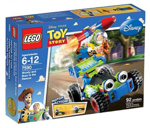 LEGO Toy Story Woody & Buzz To The Rescue Set #7590
