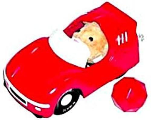 Zhu Zhu Pets Convertible Sports Car Accessory Set [Cozy Coupe]
