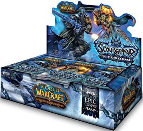 World of Warcraft Trading Card Game Scourgewar: Icecrown Booster Box