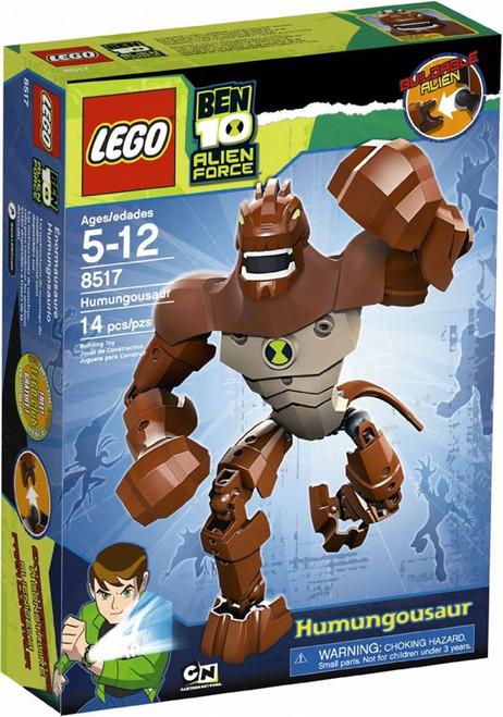 LEGO Ben 10 Alien Force Figures Humungousaur Set #8517