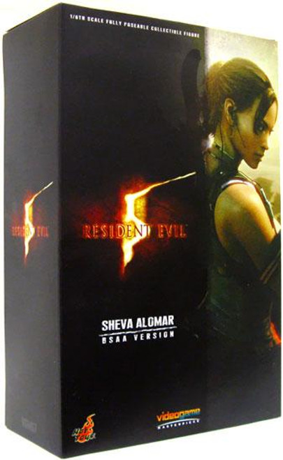 Resident Evil 5 Video Game Masterpiece Sheva Alomar 1/6 Collectible Figure [B.S.A.A. Version]