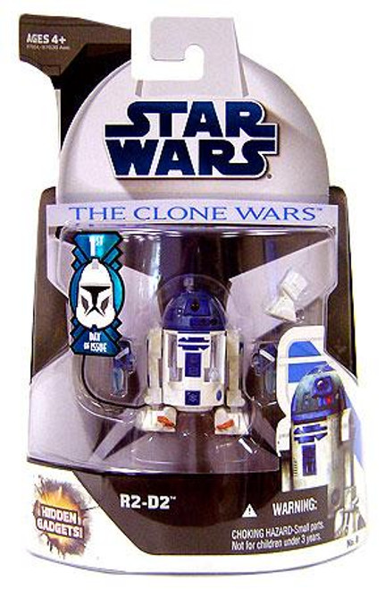 Star Wars The Clone Wars Clone Wars 2008 R2-D2 Action Figure #8 [First Day of Issue]