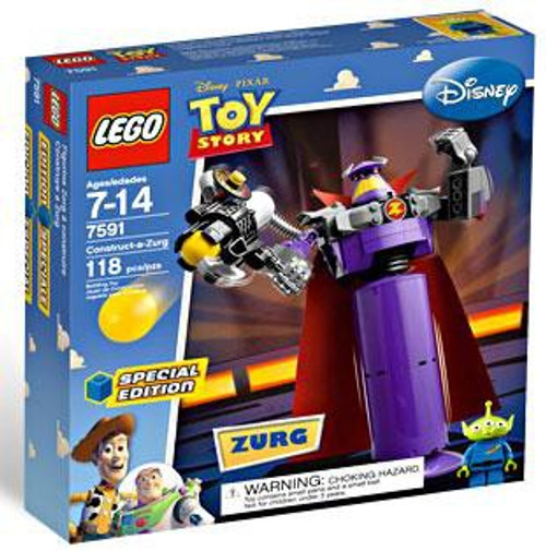 LEGO Toy Story Construct a Zurg Exclusive Set #7591