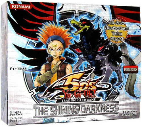 YuGiOh The Shining Darkness Booster Box [24 Packs] [Sealed]